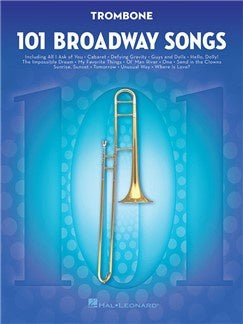 101 Broadway Songs: Trombone