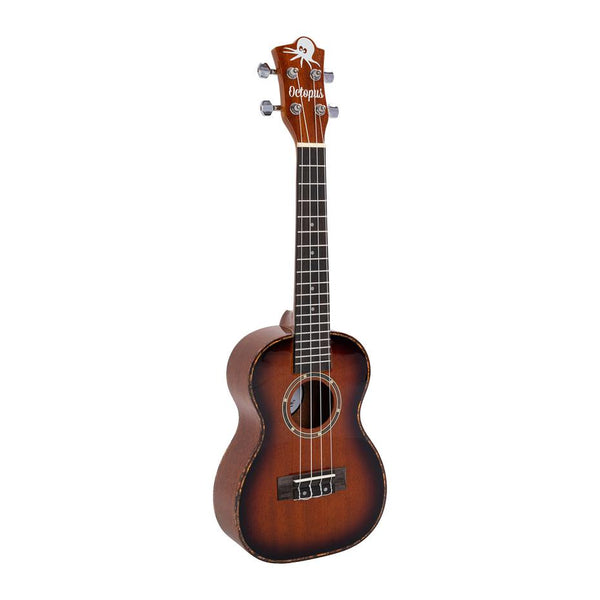 Octopus UK300C Mahogany concert ukulele in gloss finish