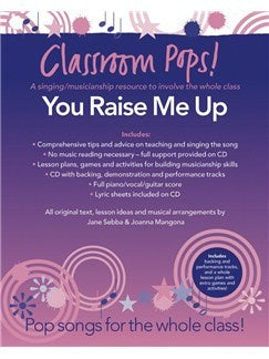 Classroom Pops! You Raise Me Up