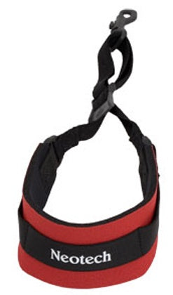 Neotech Soft Sax Strap Red, with swivel hook