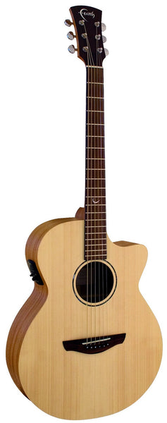Faith Naked Series (FKV) Venus All Solid Electric Acoustic - Including Gig Bag