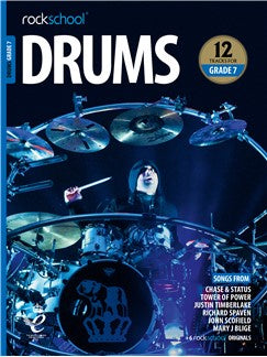 Rockschool: Drums Grade 7 2018+ (Book/Audio)