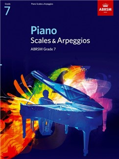 ABRSM Piano Scales and Arpeggios: From 2009 (Grade 7)