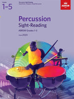 ABRSM Percussion Sight-Reading - Grades 1 - 5