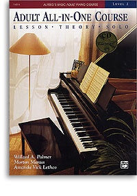 Alfred's Basic Adult Piano Course: Adult All-In-One Level 2