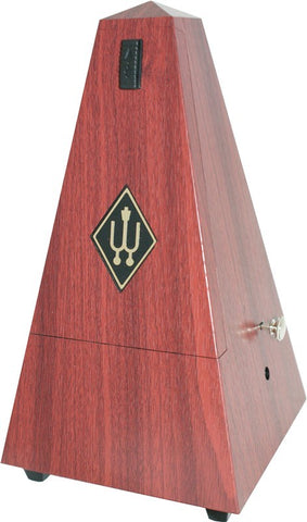 Wittner Metronome, Plastic / Mahogany Finish With Bell