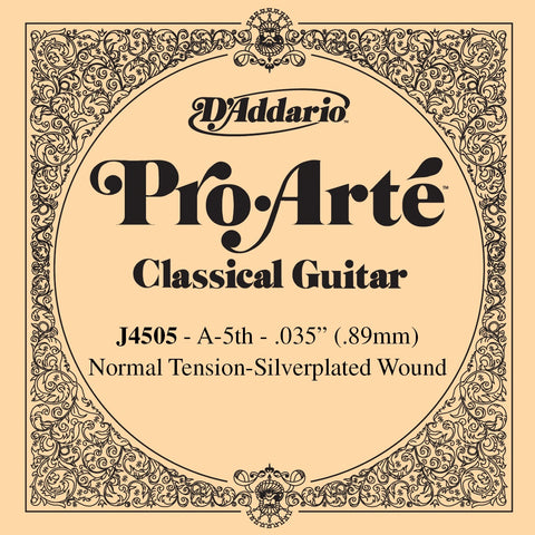 D'Addario Pro Arte normal tension A / 5th