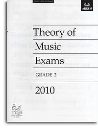 ABRSM Theory Of Music Exams 2010: Test Paper - Grade 2