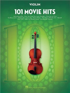 101 Movie Hits For Violin
