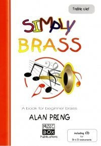 Pring Simply Brass Treble Clef +CD