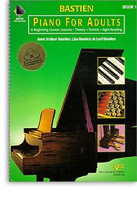 Bastien Piano For Adults: Book 1 (With 2 CDs)