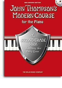 John Thompson's Modern Course Second Grade - Book/CD (2012 Edition)