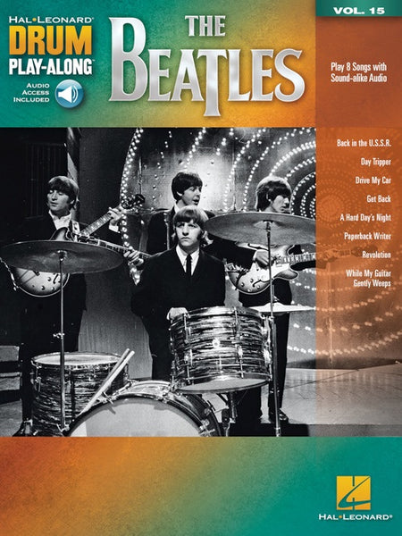 Drum Play Along Volume 15: The Beatles - Audio Access
