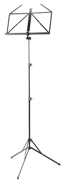 K&M (10052) Extra Tall Music Stand - Black