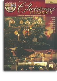 Beginning Piano Solo Play-Along Volume 5: Christmas Classics