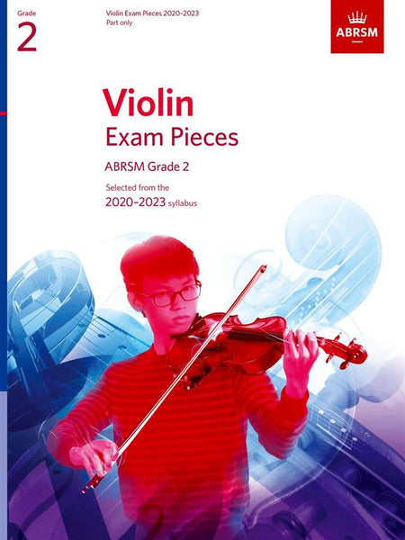 ABRSM Violin Exam Pieces 2020-2023 - Grade 2 - PART ONLY