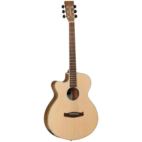 Tanglewood Discovery (DBT-SFCE-PW-LH) Pacific walnut left handed electric acoustic