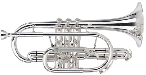 (N) Besson (BE928G-2-0) Sovereign silver plated cornet