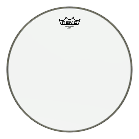 "(N) Remo 10"" clear ambassador drum head"