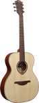 Lag Tramontane (T70A) Solid Top Auditorium Acoustic Guitar - Natural Satin