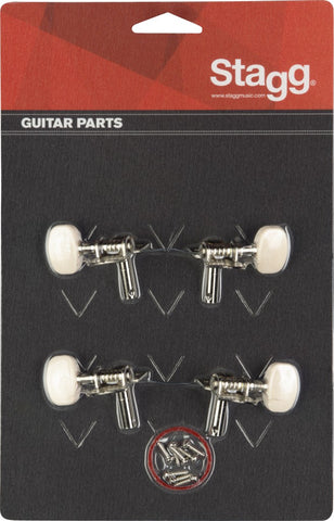 Stagg ukulele machine heads - set of 4