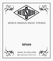 Rotosound single .009 plain guitar string