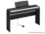 Yamaha P-125 Portable Digital Piano - Black P125 P125B