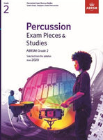 ABRSM Percussion Exam Pieces & Studies - Grade 2