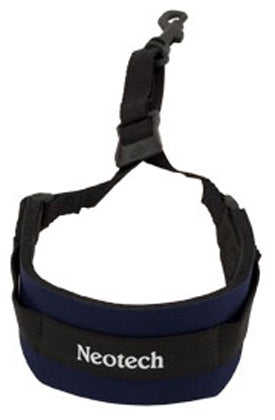 Neotech Soft Sax Strap Navy, with swivel hook