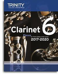Trinity College London: Clarinet Exam Pieces Grade 6, 2017–2020 (Score And Part)