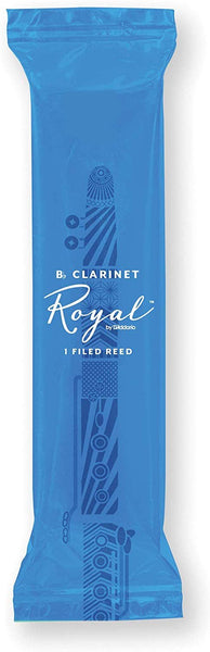 Royal By D'Addario Strength 2.5 Bb Clarinet Reed - Single Reed