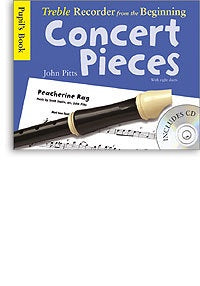 Treble Recorder From The Beginning - Concert Pieces (Pupil's Book - CD Edition)