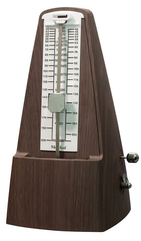 Montford (MFMT30) Pyramid Metronome With Bell - Wood Effect