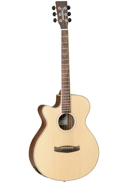 Tanglewood Discovery (DBT-SFCE-BW-LH) Black Walnut Left Handed Electric Acoustic