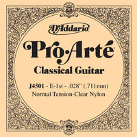 D'Addario Pro Arte normal tension high E / 1st