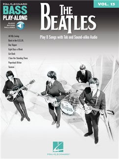 The Beatles: Bass Play-Along Volume 13