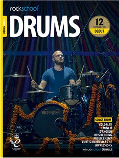 Rockschool: Drums Debut 2018+ (Book/Audio)