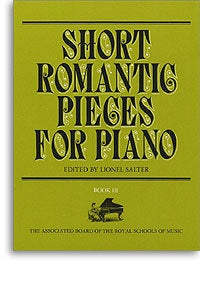 Short Romantic Pieces for Piano, Book III