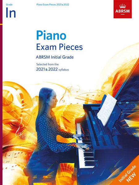 ABRSM Piano Exam Pieces 2021 - 2022 - Grade Initial (BOOK ONLY)