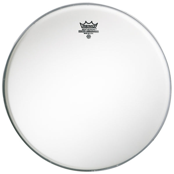 "Remo 14"" coated ambassador drum head"