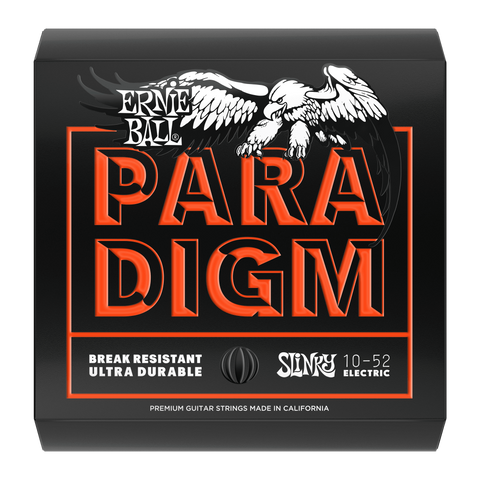 Ernie Ball Paradigm - Slinky top, heavy bottom electric guitar strings