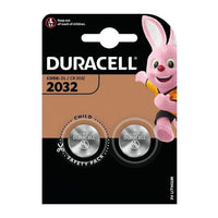 Duracell Lithium CR2032 Battery / Batteries - Pack Of 2