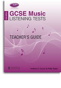 Philip Taylor/Andrew Coxon: AQA GCSE Music Listening Tests - 2nd Edition (Teacher's Guide)