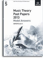 ABRSM Theory Of Music Exam 2013 Past Paper Model Answers Grade 5