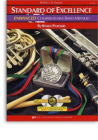 Standard Of Excellence: Enhanced Comprehensive Band Method Book 1 (B-Flat Clarinet)