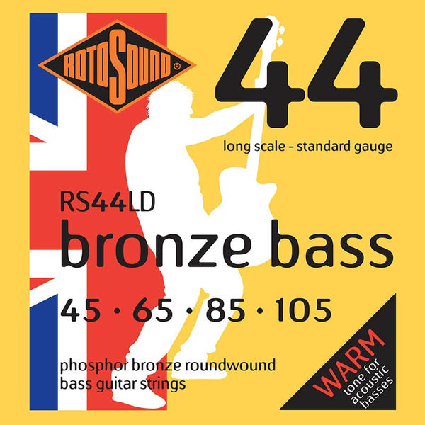 Rotosound (RS44LD) Phosphor Bronze 45-105 Acoustic Bass String Set