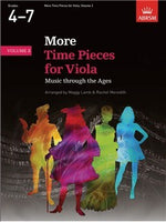 ABRSM More Time Pieces For Viola - Volume 2