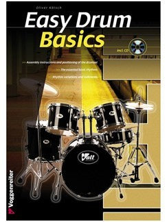 Oliver Kölsch: Easy Drum Basics (Book/CD)