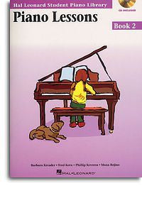 Hal Leonard Student Piano Library: Piano Lessons Book 2 (Book/Audio Download)