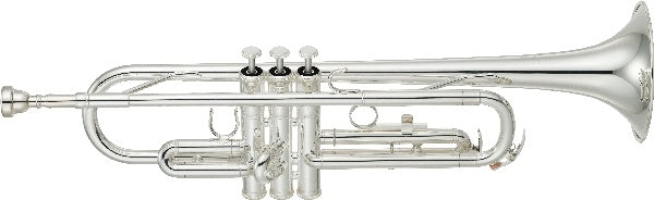Yamaha YTR2330S silver plated trumpet outfit